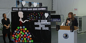 8 Mart Dünya Emekçi Kadınlar Günü coşkuyla kutlandı