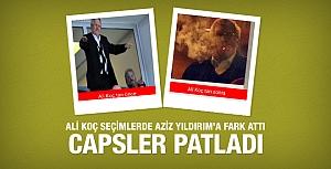 Ali Koç başkan oldu capsler patladı!