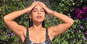 Biran Damla Yılmaz bikinili pozlarıyla kasıp kavuruyor
