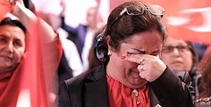 CHP'liler gözyaşlarına boğuldu