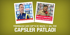 Fenerbahçe 11 gol yedi capsler patladı