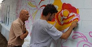 Kartal'da duvarlar renklendi