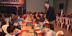 Kartal'da satranç heyecanı