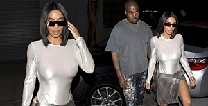 Kim Kardashian flaş mağduru