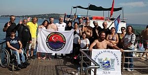 Trafik mağdurlarına dalış eğitimi