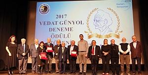Vedat Günyol 2.deneme yarışması ödülleri sahiplerini buldu