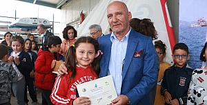 Yelken Yaz Okulu öğrencilerine sertifika!