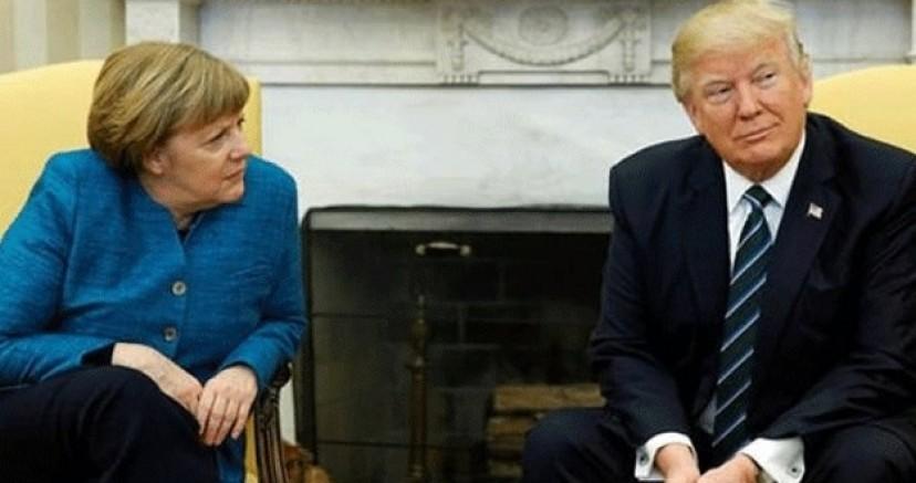 ABD Basını; Trump Merkel'e baskı yapıyor