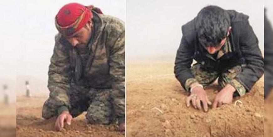 ABD PKK'lı teröristlere bomba eğitimi veriyor!