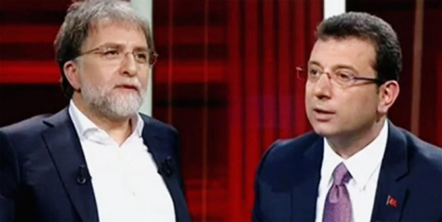 Ahmet Hakan'dan olay Ekrem İmamoğlu itirafı