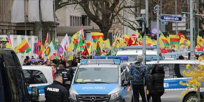 Alman polisden skandal Öcalan tweeti