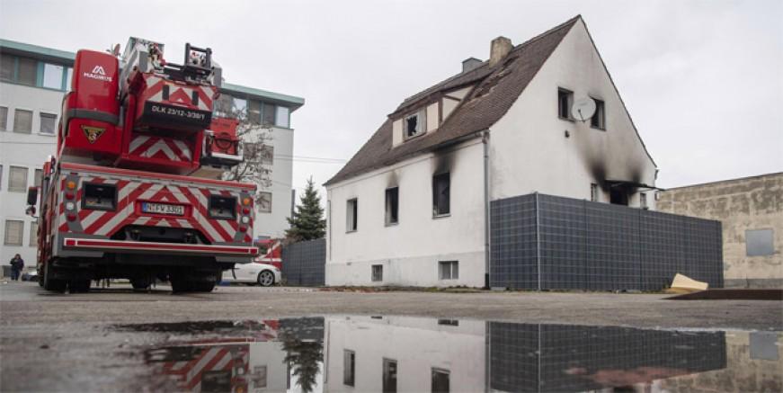 Almanya'da korkunç yangın! 5 ölü