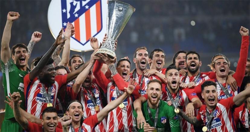 Atletico Madrid UEFA Kupası'nı kazandı