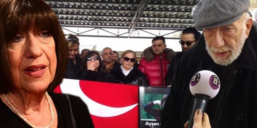 Ayşen Gruda'nın cenazesinde büyük saygısızlık