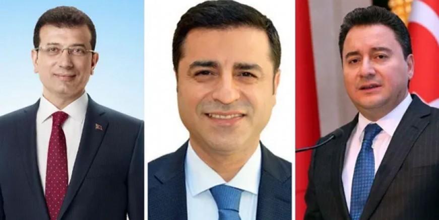 Babacan İmamoğlu ve Demirtaş bomba iddia!
