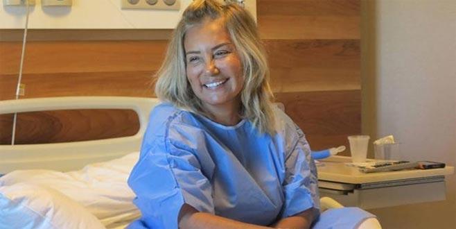 Bahar Öztan'ın ameliyatı 12 saat sürdü
