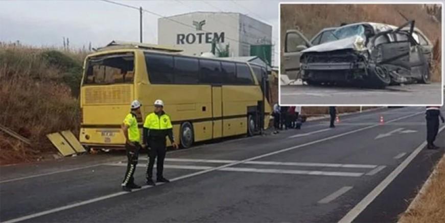 Bandırma'da korkunç kaza; 4 ölü