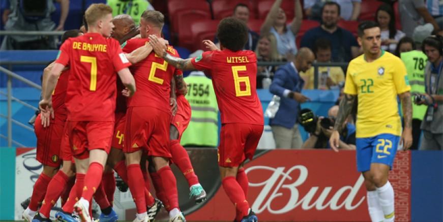 Belçika Brezilya'yı kupanın dışına itti