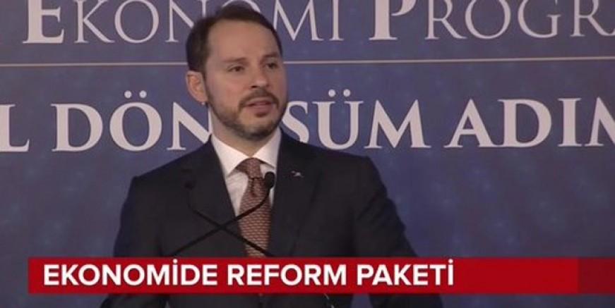 Berat Albayrak reform paketini açıkladı!