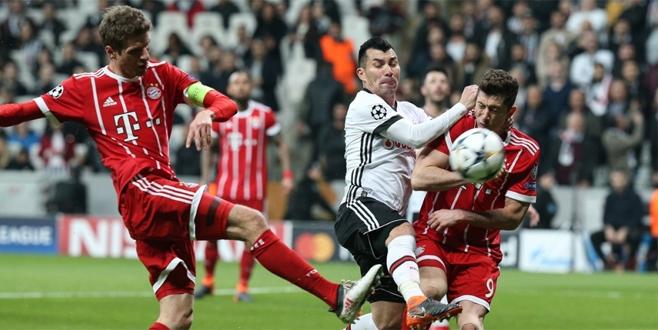 Beşiktaş - Bayern Münih maçı sonucu ve golleri