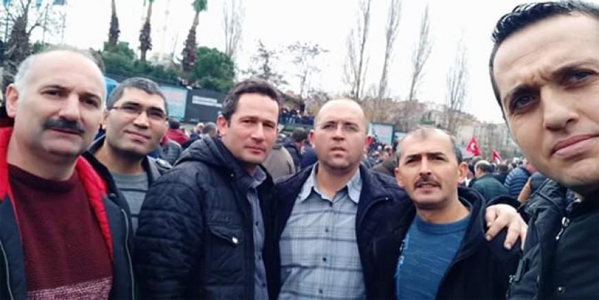 Binlerce EYT'li İstanbul'u salladı