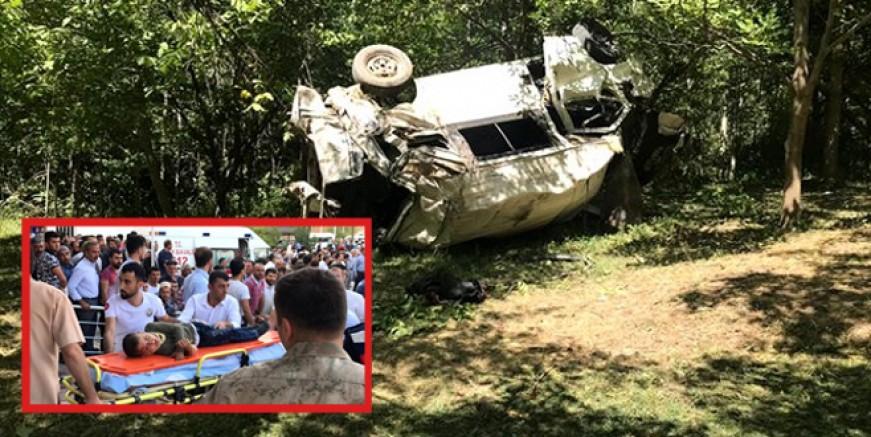 Bitlis'te katliam gibi kaza; 10 ölü