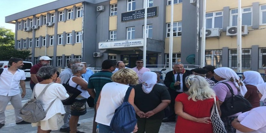 Bodrum'lu köylüler yine ayakta