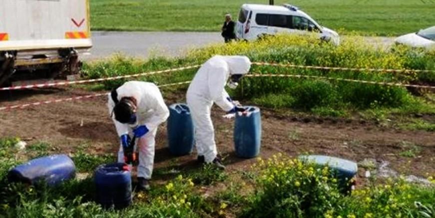 Büyükçekmece'de kimyasal madde alarmı