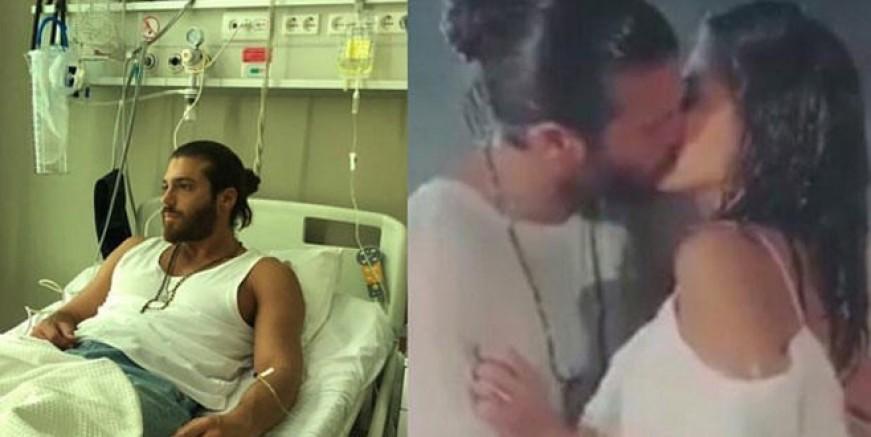 Can Yaman hastanelik oldu