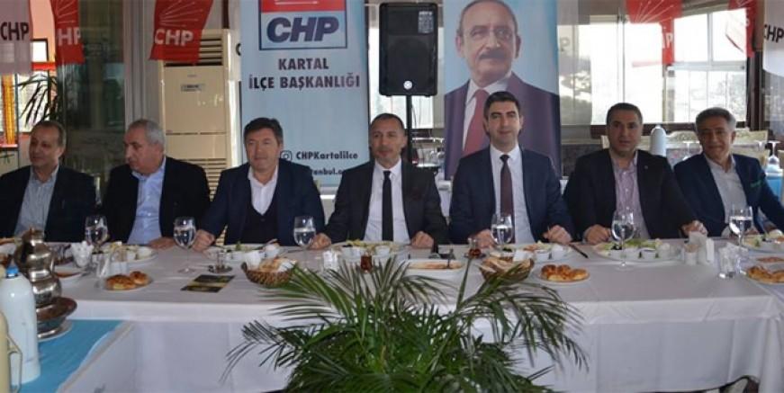 CHP Kartal Gökhan Yüksel etrafında birleşti