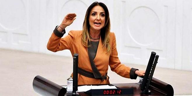 CHP Parti Meclisi'nde Aylin Nazlıaka krzi