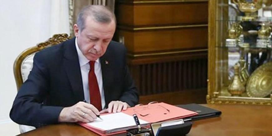 Cumhurbaşkanı Edoğan'dan kritik atamalar!