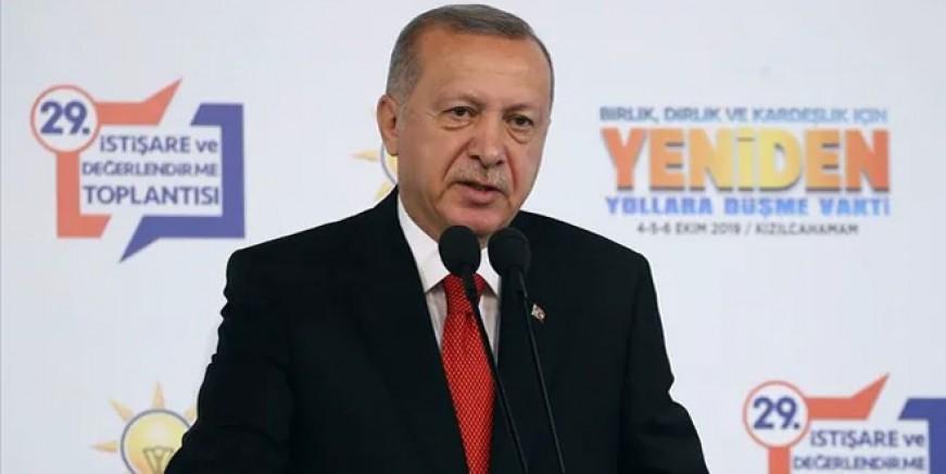 Cumhurbaşkanı Erdoğan 50+1'e son noktayı koydu