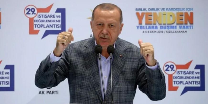 Cumhurbaşkanı Erdoğan'dan çok sert çıkış!
