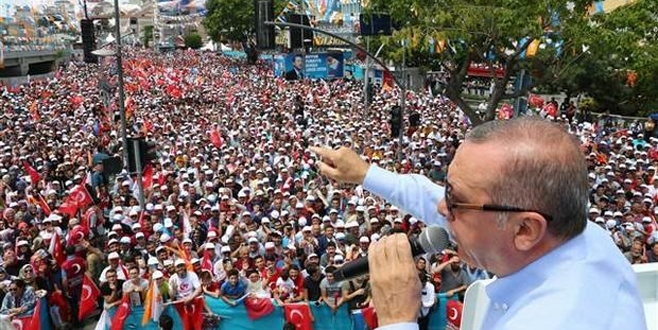 Cumhurbaşkanı Erdoğan Kartal'da konuştu