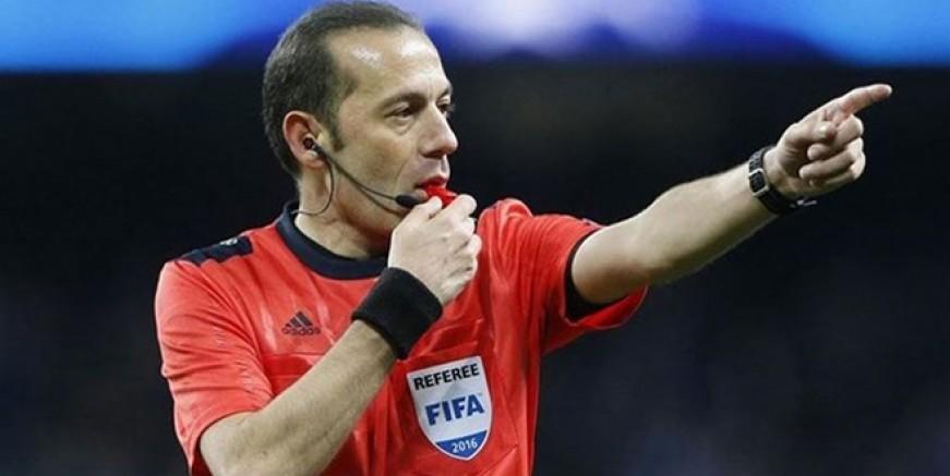 Cüneyt Çakır Tottenham M. City maçını yönetecek
