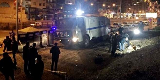 Diyarbakır'da polis noktasına hain saldırı