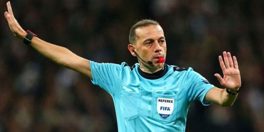 Fenerbahçe - Akhisar maçını Cüneyt Çakır yönetecek