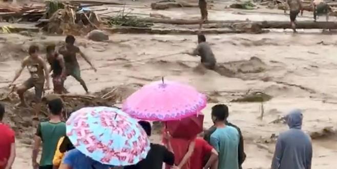 Filipinler'de tropikal tayfun felaketi: 90 ölü