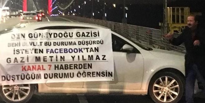 Gazi Metin Yılmaz İstanbul'u alarma geçirdi