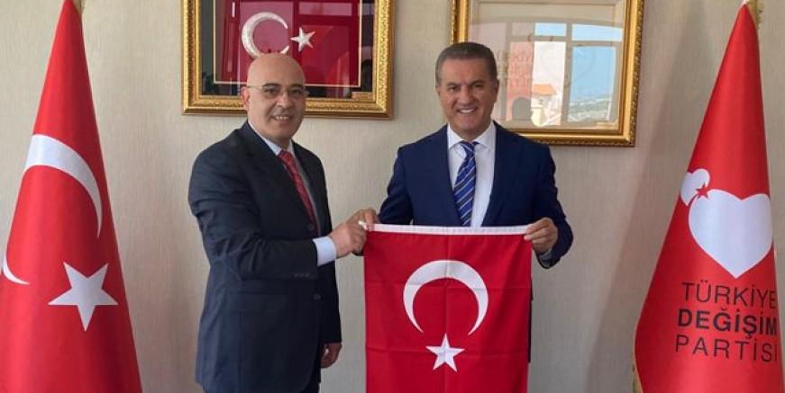 Hasan Şişli TDP Parti Meclisi üyeliğine seçildi.