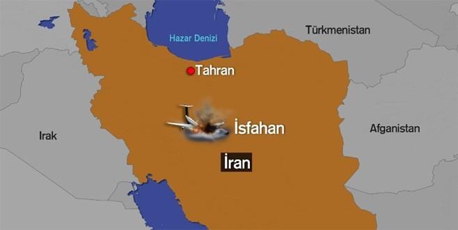 İran'da yolcu uçağı düştü; 66 ölü