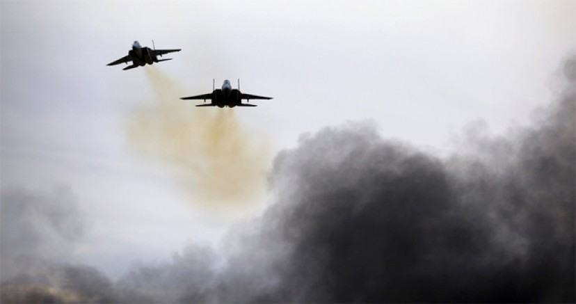 İsrail HAMAS'a ait askeri noktaları vurdu