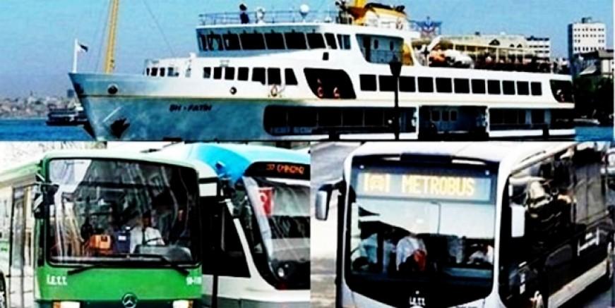 İstanbul'da toplu ulaşımdan büyük kaçış!