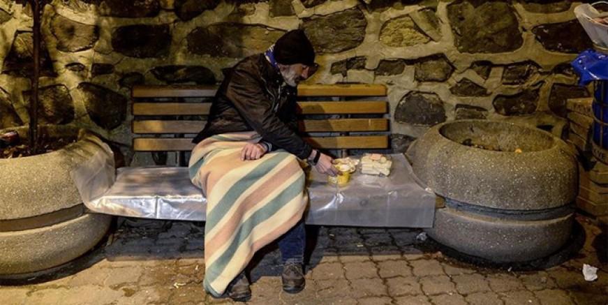 İstanbul'daki evsizlere Valilik sahip çıktı