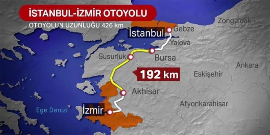 İstanbul - İzmir Otoyolu ücretleri ne kadar?