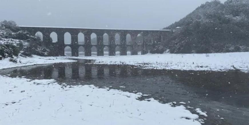 İstanbul'un barajlarına kar dopingi!