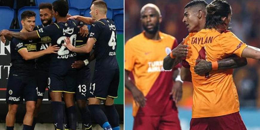 İşte Fenerbahce ve Galatasaray'ın rakipleri