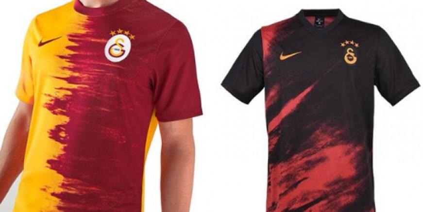 İşte Galatasaray yeni sezon formaları