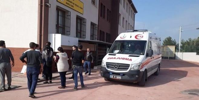 İzmir'de bir okulda doğalgaz patlaması!